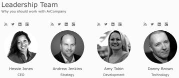 ArCompany marketing business strategy